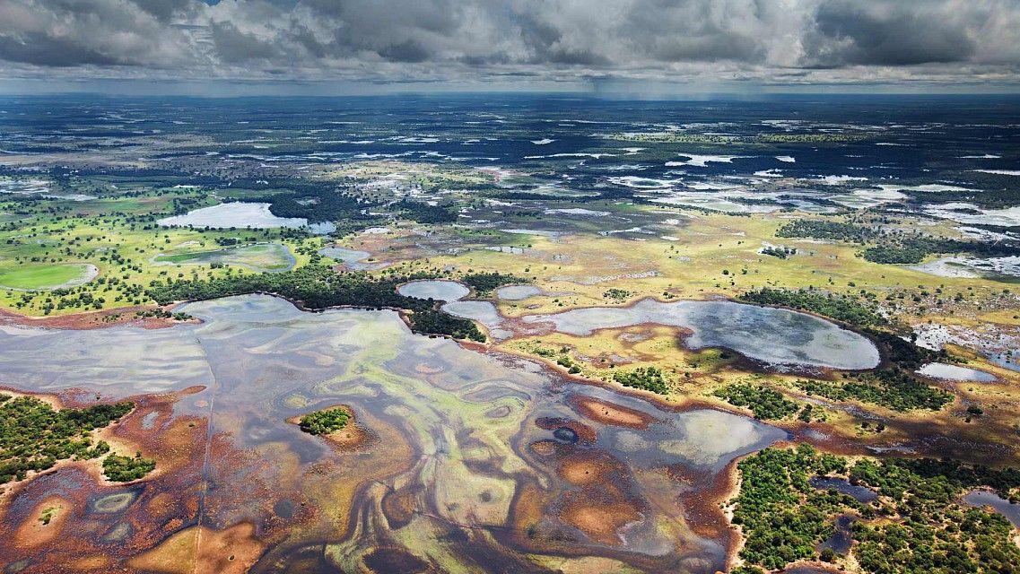 Pantanal (MT) Vista aerea Foto Akashat Shivpuriya