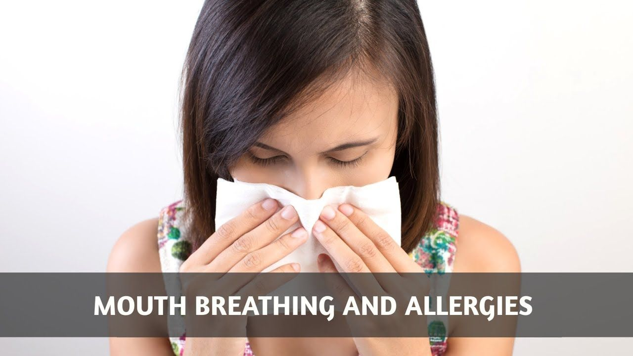 A video looking at how mouth breathing relates to