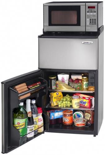 When Downsizing You Need Smaller Appliance And Microfridge Has Come Up With An Interesting Combinat Small