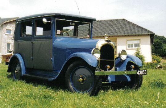 1928 Chenard & Walcker Z 5