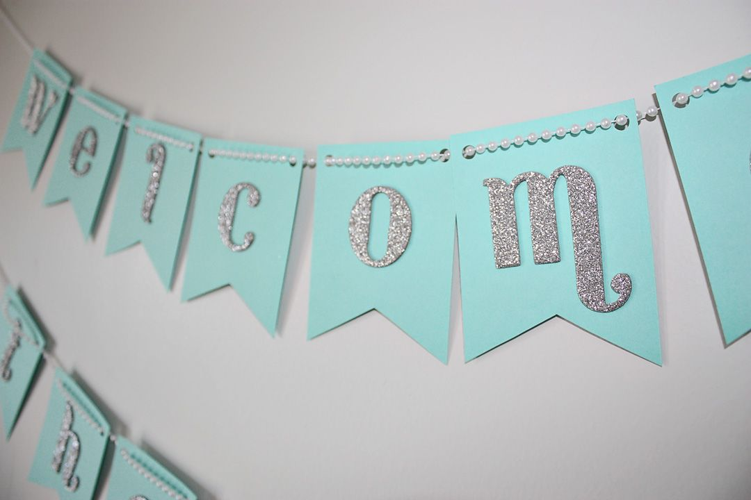 Love Lace Diy Baby Shower Banner Baby Shower Banner Baby Shower Banner Diy Baby Shower Banner Girl