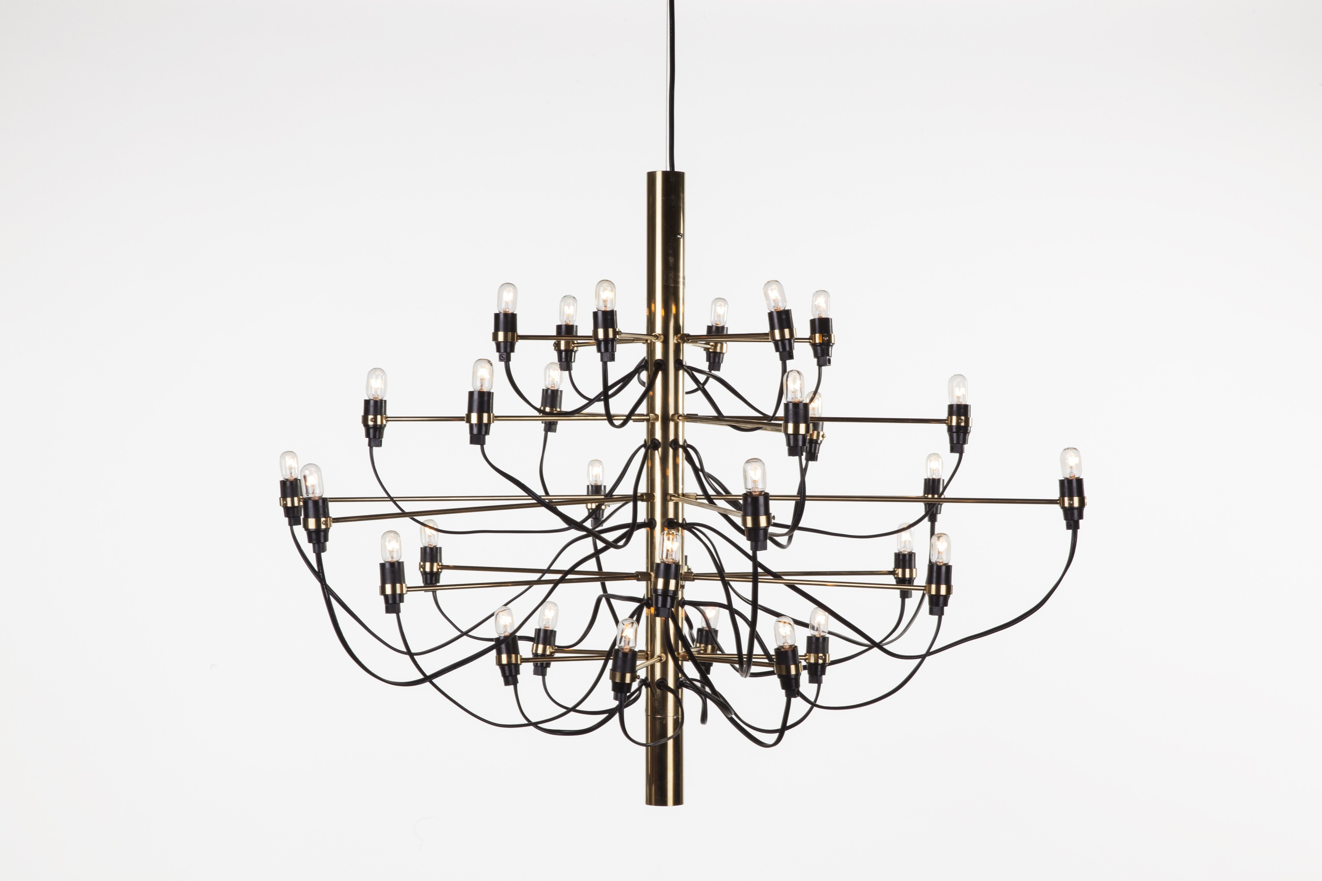 The Nardvik Chandelier - Brass
