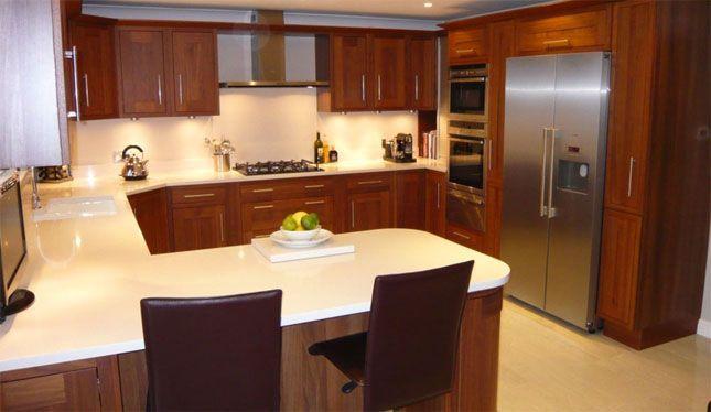 G Shaped Kitchen Kuchen Layouts Umbau Kleiner Kuche U Formige