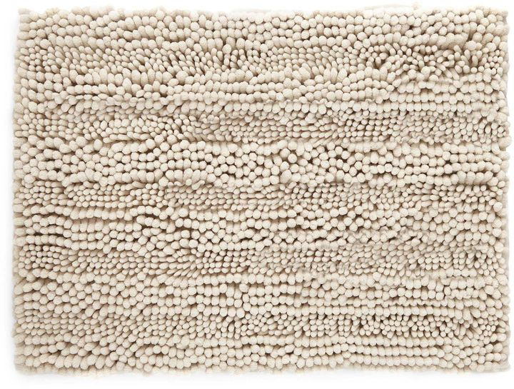 Jcp Home Chenille Lines Bath Rug Collection Bath Rug