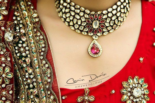 kundan wedding necklace classic Cosmin Danila Photography