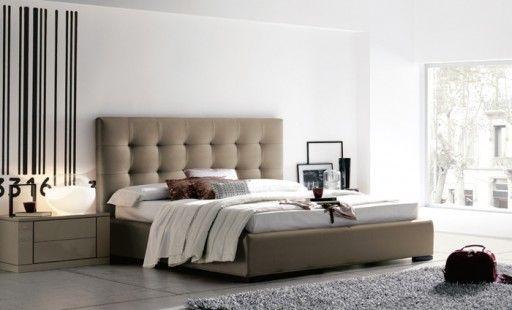 cama tapizada wendy de kibuc cabezal tapizado en visn