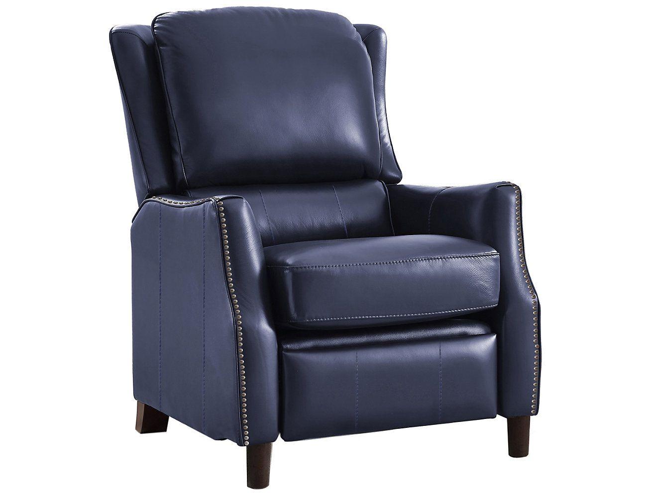 Decatur leather recliner art van home leather recliner