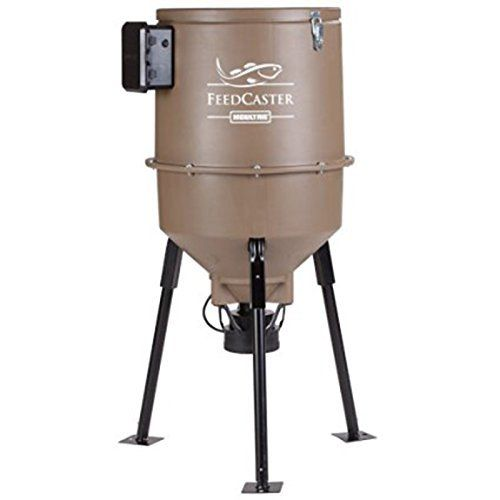 Moultrie 30-Gallon FeedCaster Fish Feeder by Moultrie. Moultrie 30-Gallon FeedCaster Fish Feeder. 30-Gallon.