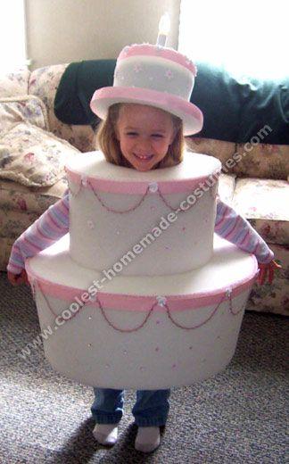 Coolest Homemade Halloween Costume Ideas | Cake costume ...