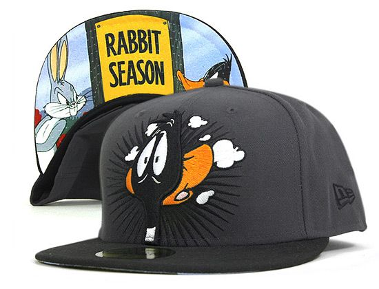 NEW ERA x LOONEY TUNES 「Daffy Bugs」59Fifty Fitted Baseball Cap ... a0bb4ba8c36