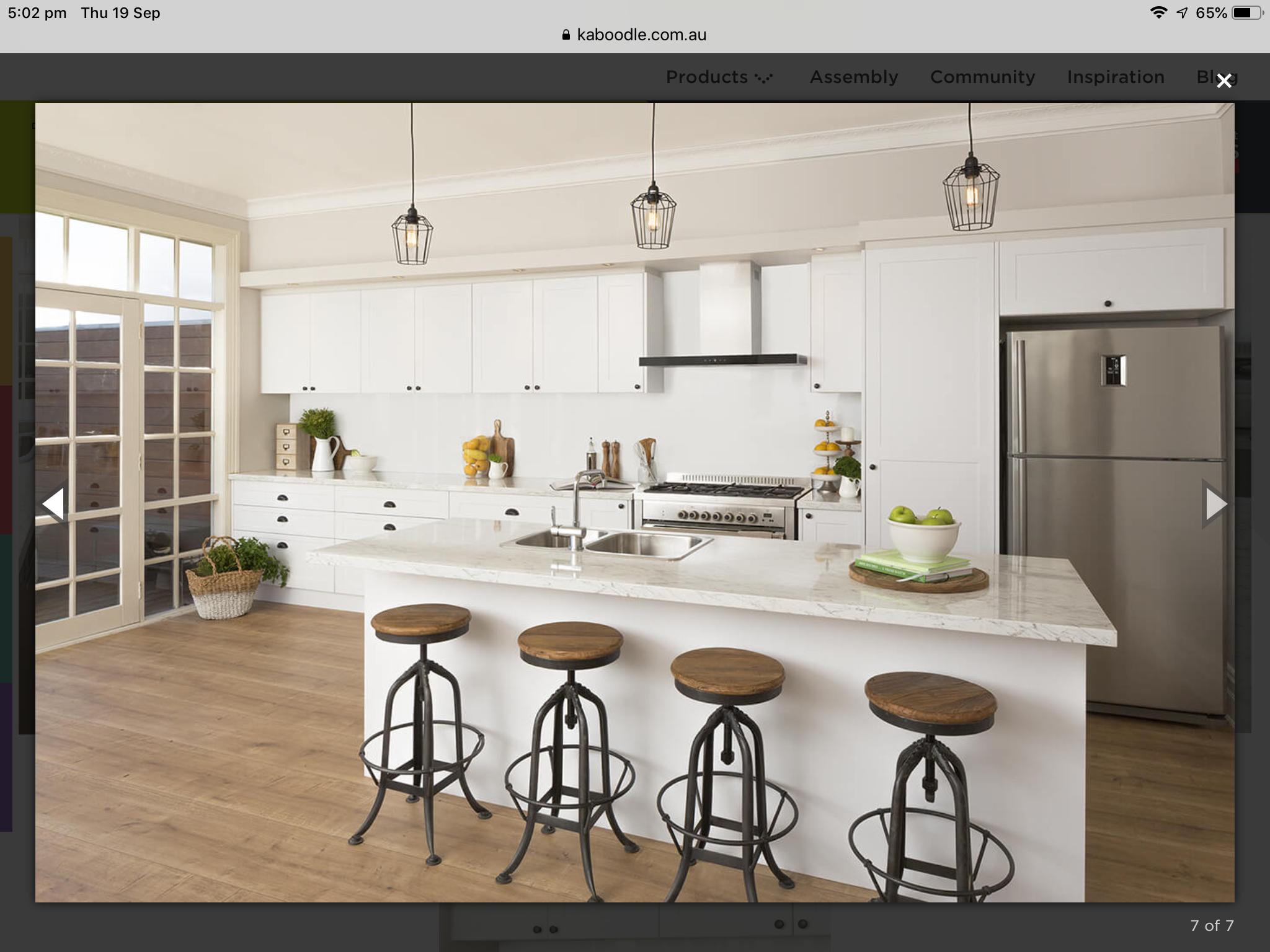 Kaboodle Kitchen inspirations, Kitchen layout, Kitchen