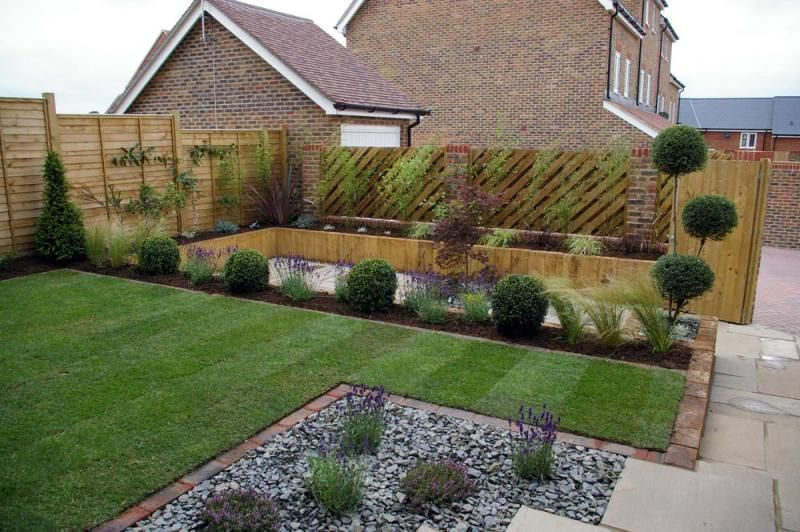 garden design ideas new build contemporary gardens