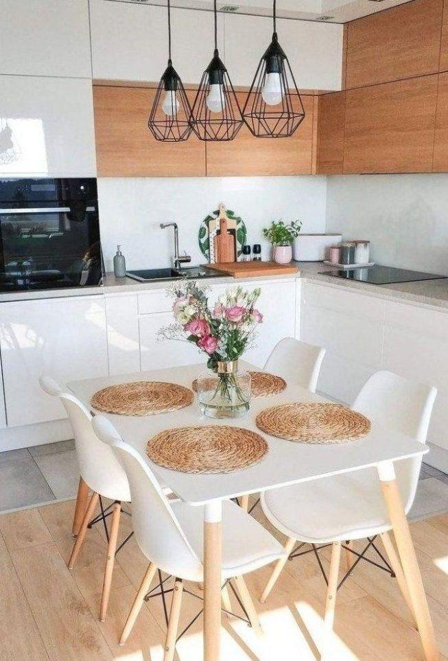 50 erstaunliche kleine Apartment K che Dekor Ideen ...