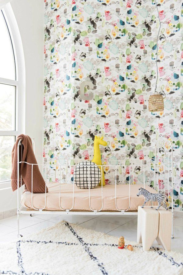 the cutest wallpapers for your child's room | children s