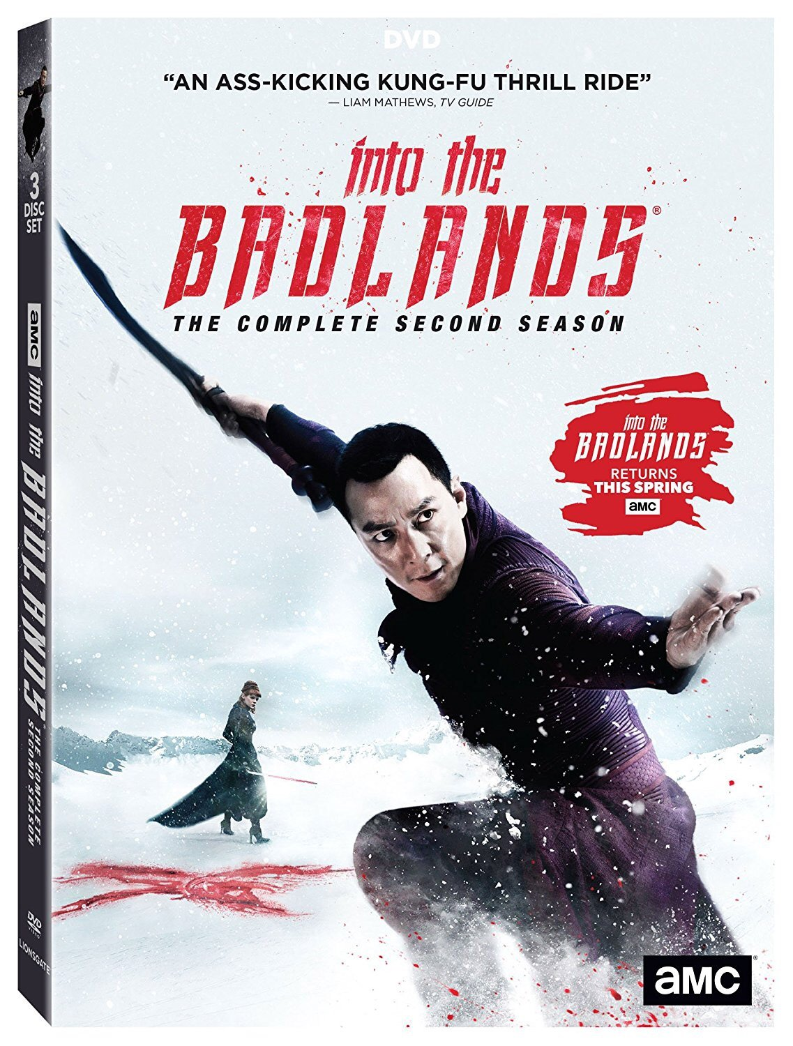 Into the Badlands: Season 2 (2017) (DVD) (English Subtitled) (US