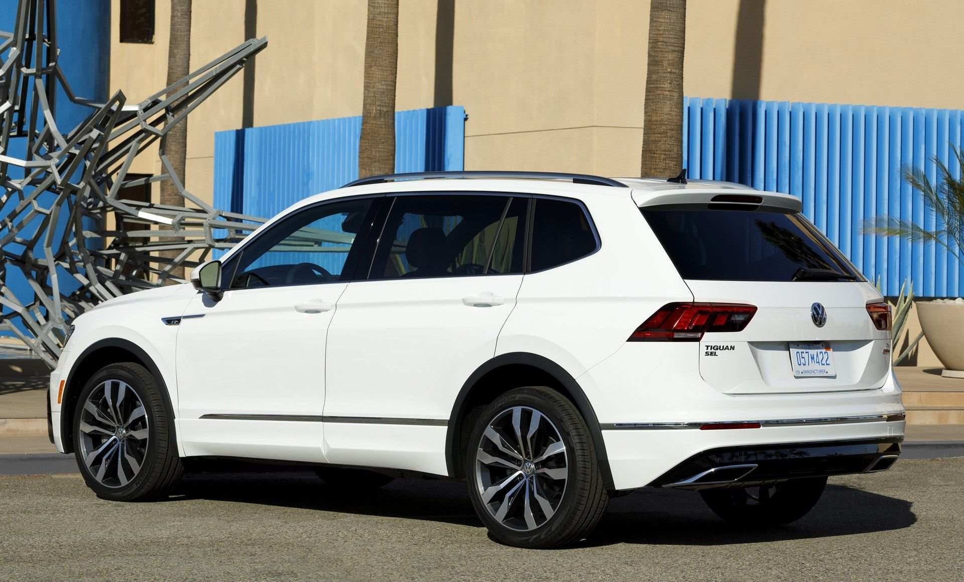 2019 Vw Tiguan R Line More Powerful With New Engine Options Tiguan R Volkswagen Tiguan R Line