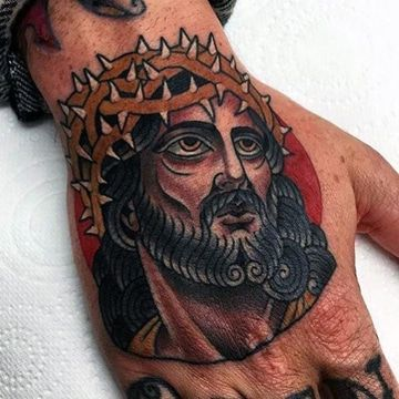 Imagenes De Tatuajes De Cristo En La Mano Y De La Cruz Tatuajes