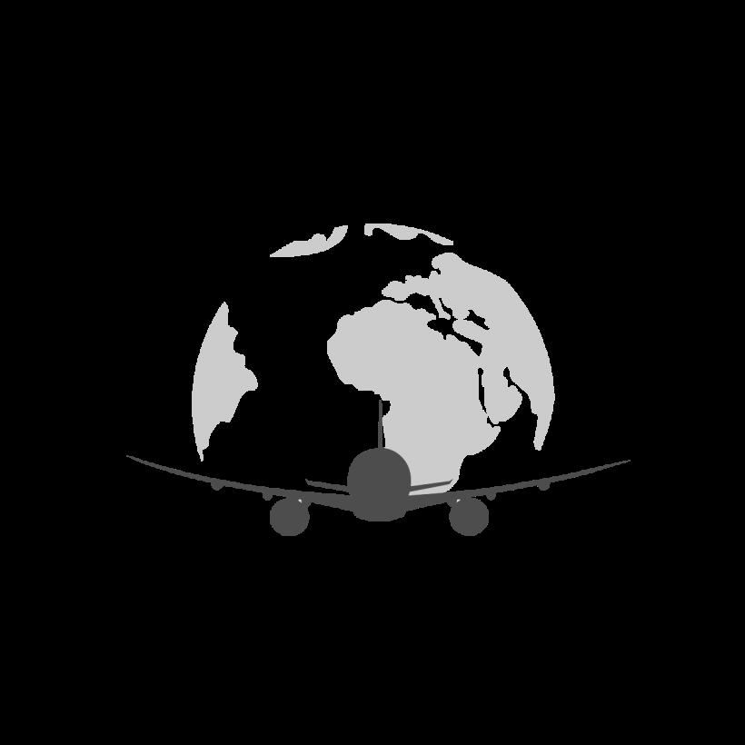 Airplane Logo Travel Free Logo Elements Logo Objects