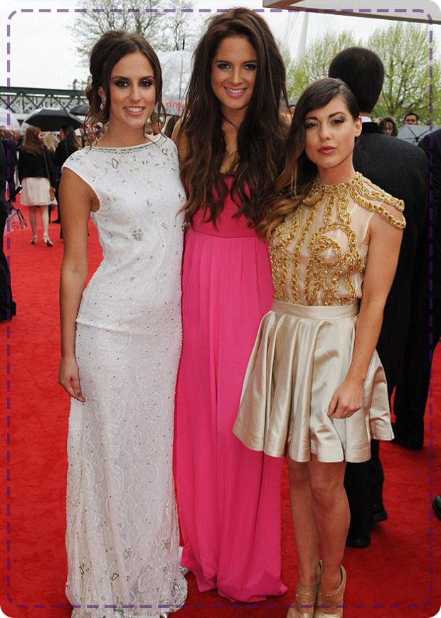 The Made In Chelsea girls looking fab at last night's TV Baftas 2013.