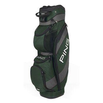 Ping Traverse Cart Bag Dark Green