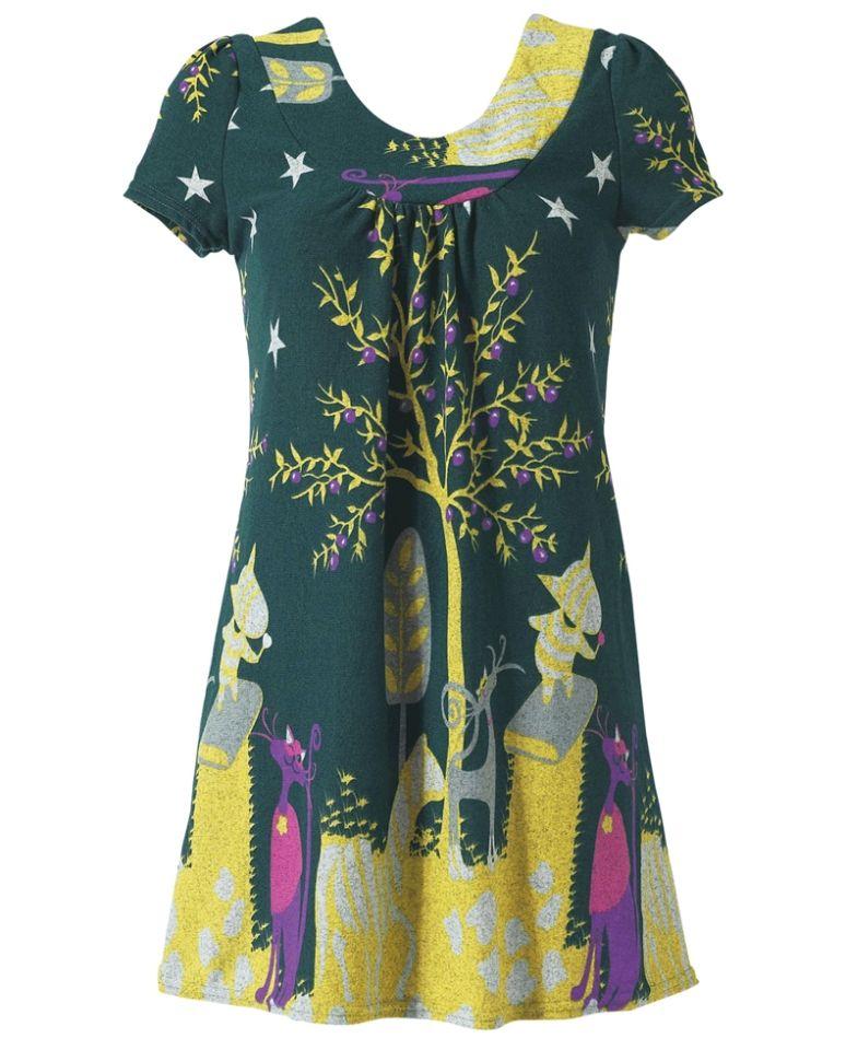 1a9afab81b8a Joe Browns Funky Cat Knitted Dress $79 Sizes 10-28 #curvy #plussize #dress