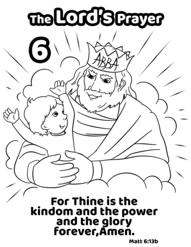 For Thine is the Kingdom and the Power and the Glory