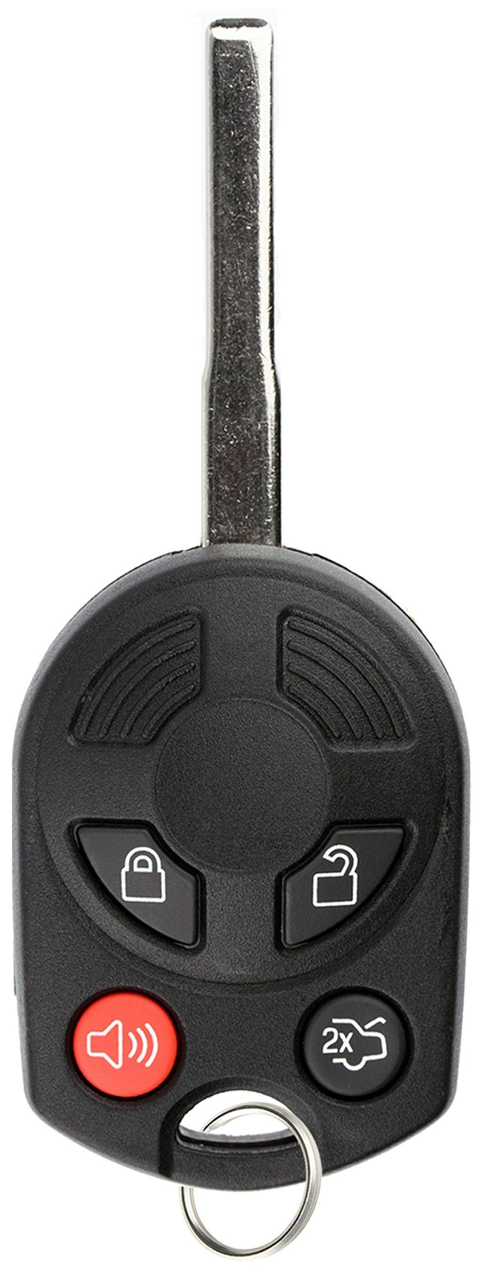Keylessoption Keyless Entry Remote Car Uncut High Security Key Fob