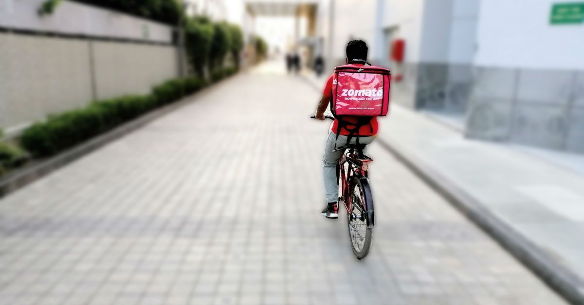 Zomato Enrols Bicycles E Bikes For Delivery In 12 Cities Zomato Rolls Out Delivery On Bicycles Bicycle Food Delivery Ebike