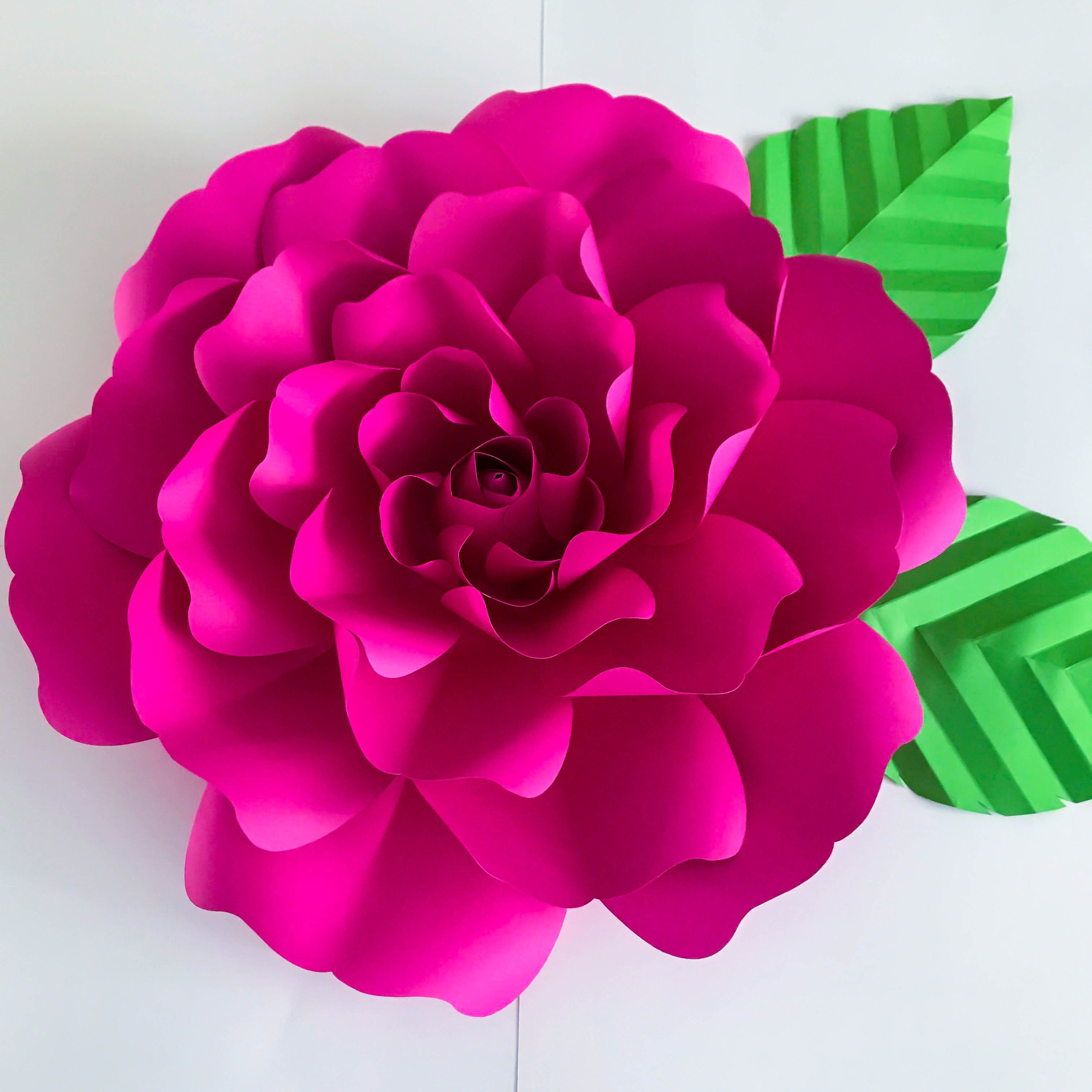 Pdf Petal 127 Flower Template With Base Digital Version Original