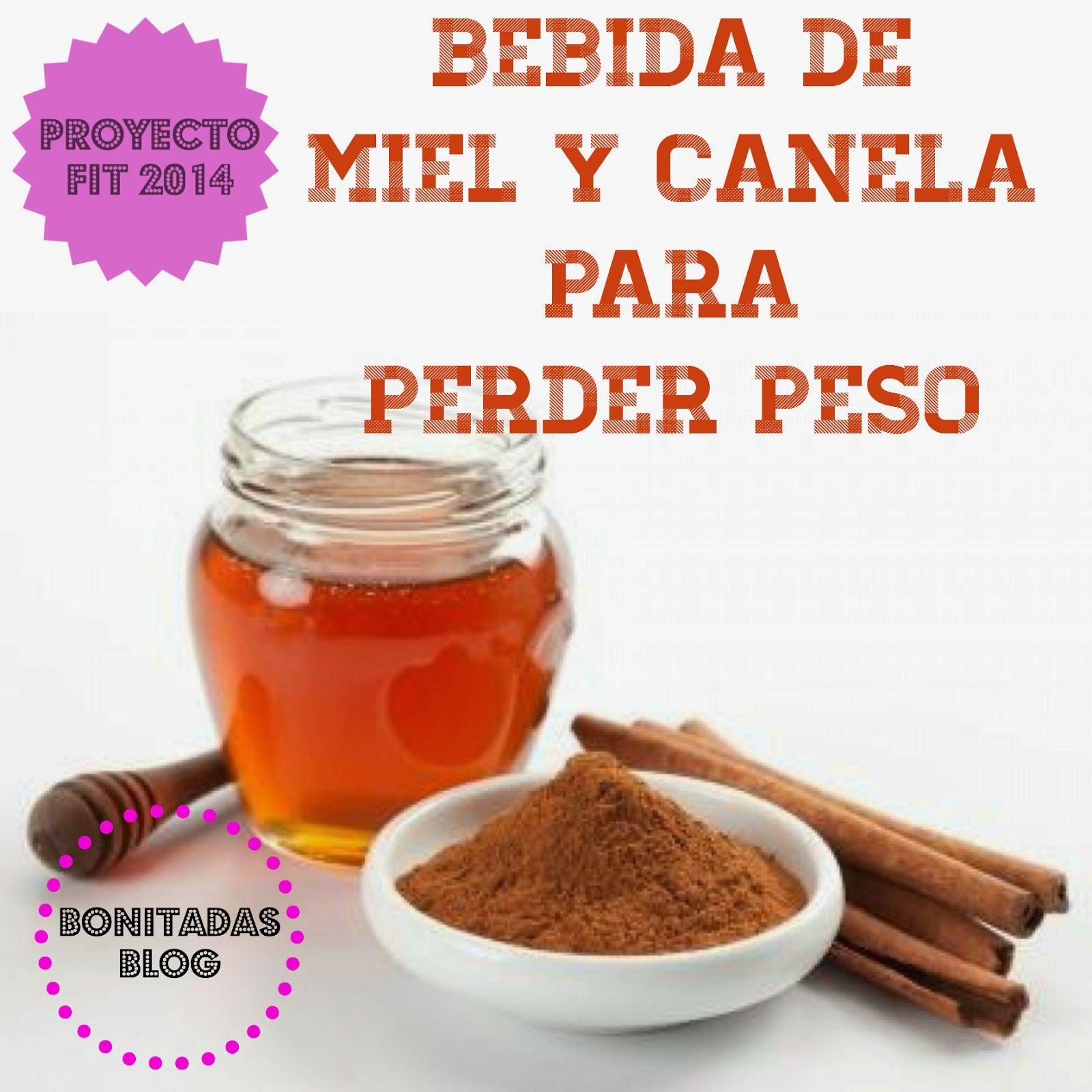 Bonitadas: Proyecto Fit 2014: Bebida de Miel y Canela para