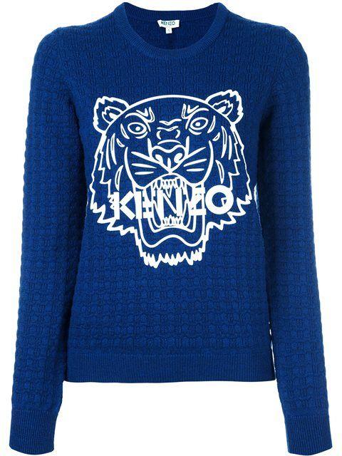 fcd878a2f KENZO 'Tiger' Textured Jumper. #kenzo #cloth #jumper | Kenzo | Kenzo ...