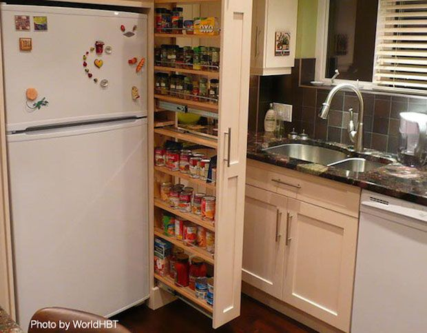 Best Maximize Storage With A Pullout Pantry Kitchen Pullout 400 x 300