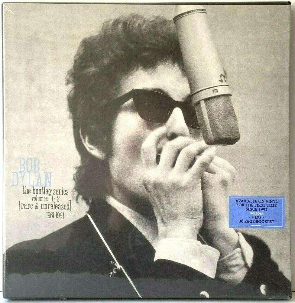 Bob Dylan The Bootleg Series Vol 1 3 Unreleased Box Set Lp Vinyl Record Album In 2020 Bob Dylan Vinyl Record Album Bootleg