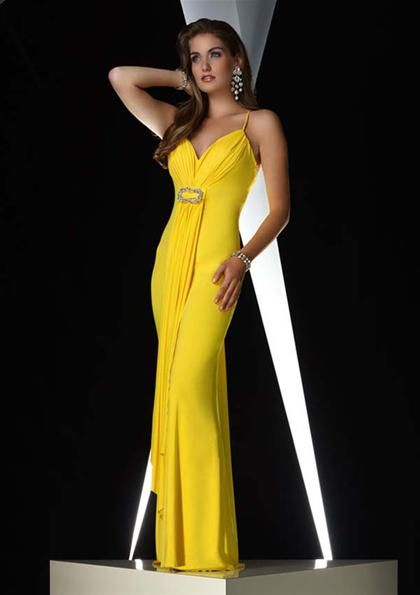 longhems.com long-yellow-dress-01 #longdresses | Dresses & Skirts ...