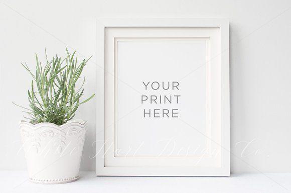 8x10\' Portrait Frame mock up by White Hart Design Co. on ...