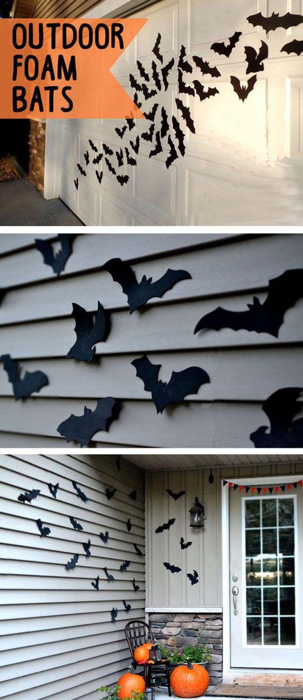 Outdoor garage decorations  Awesome Garage Door Decorating Ideas for Halloween  Halloween