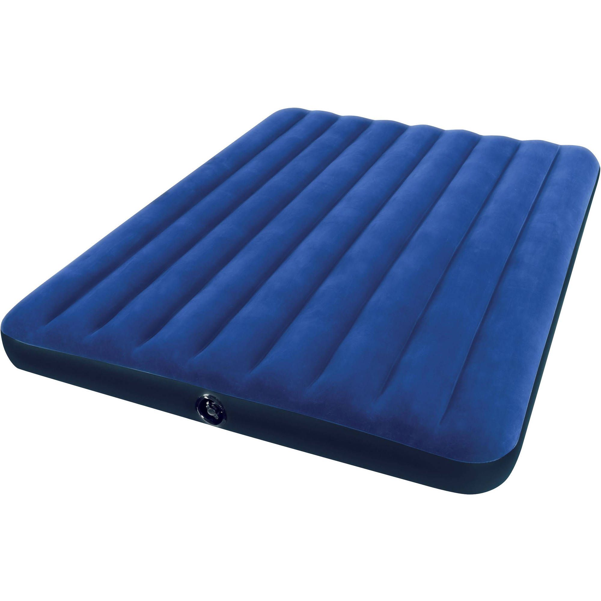 new double king mattress portable camping flocked beds bed single air itm inflatable