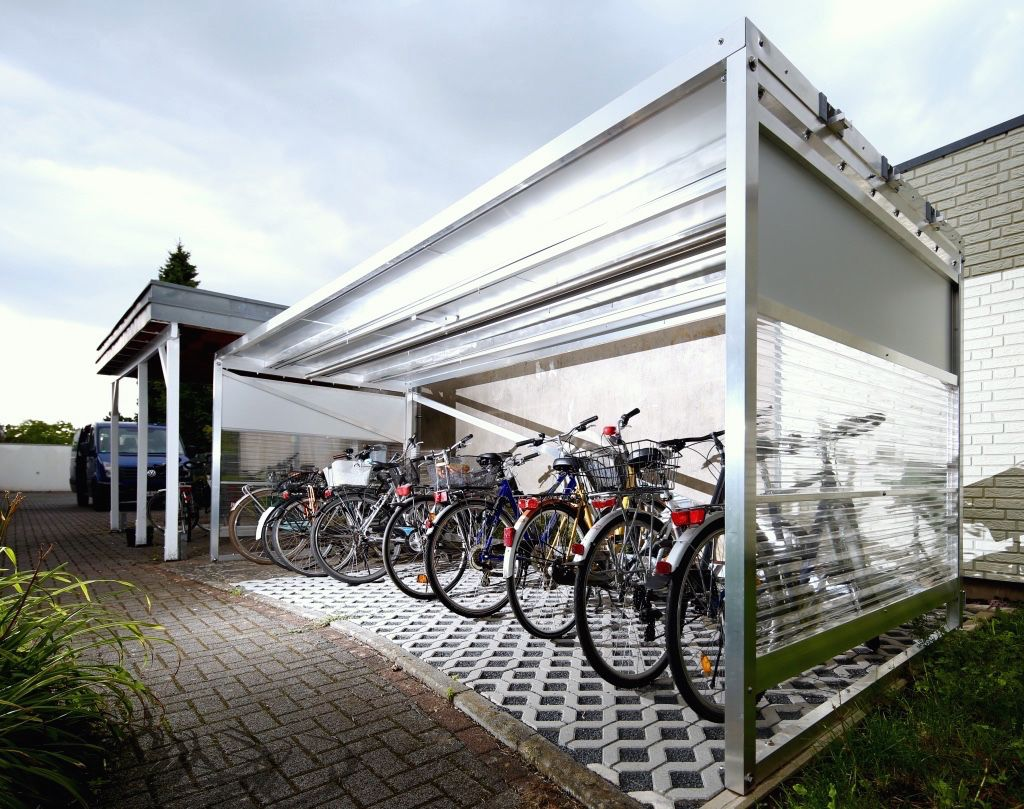 Xxl 2 Copy Fahrradgarage Fahrrad Unterstand Und Fahrrad