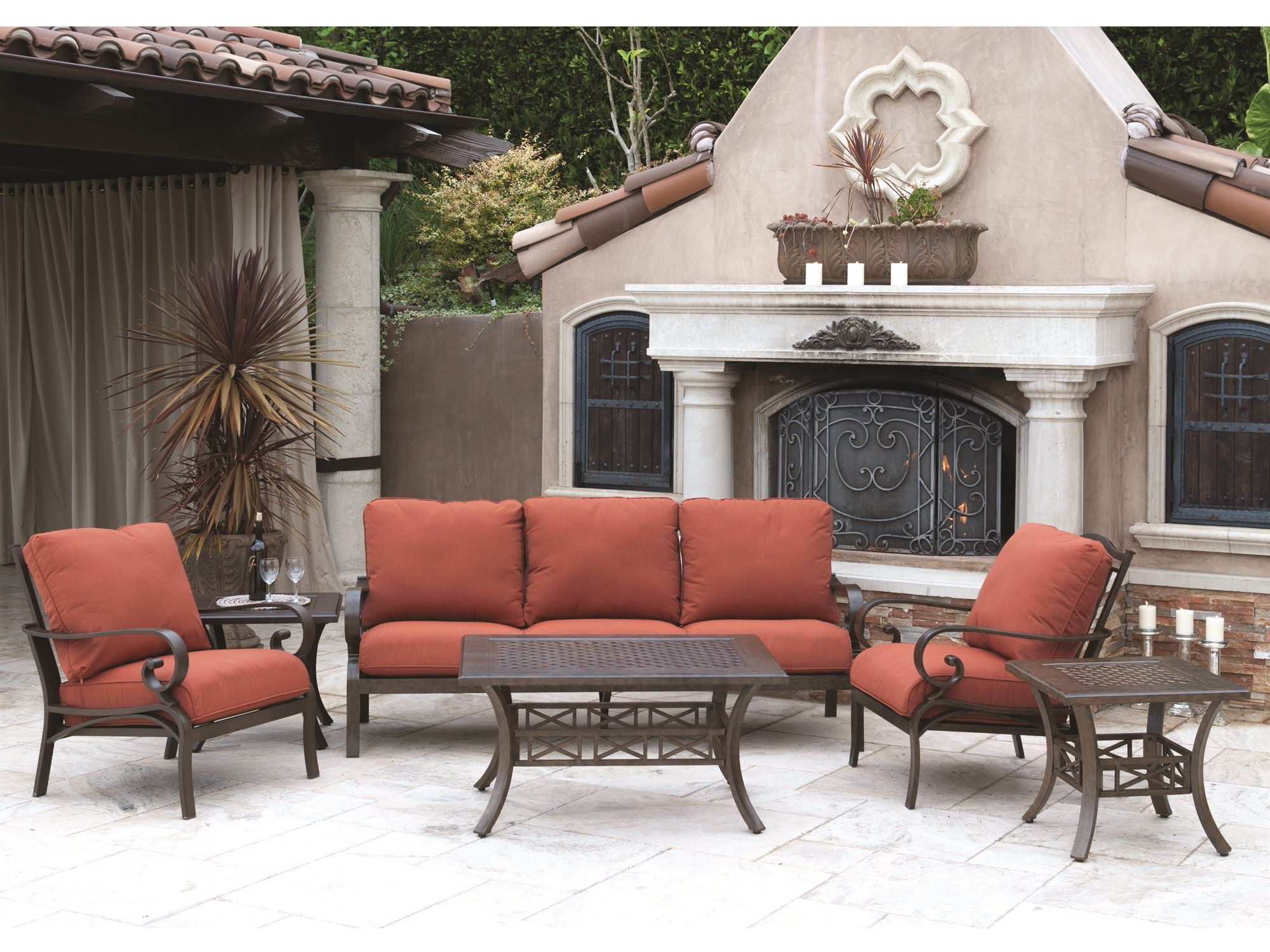 Brand New To Our Site Sunvilla Deep Seating Aluminum Patio Patio