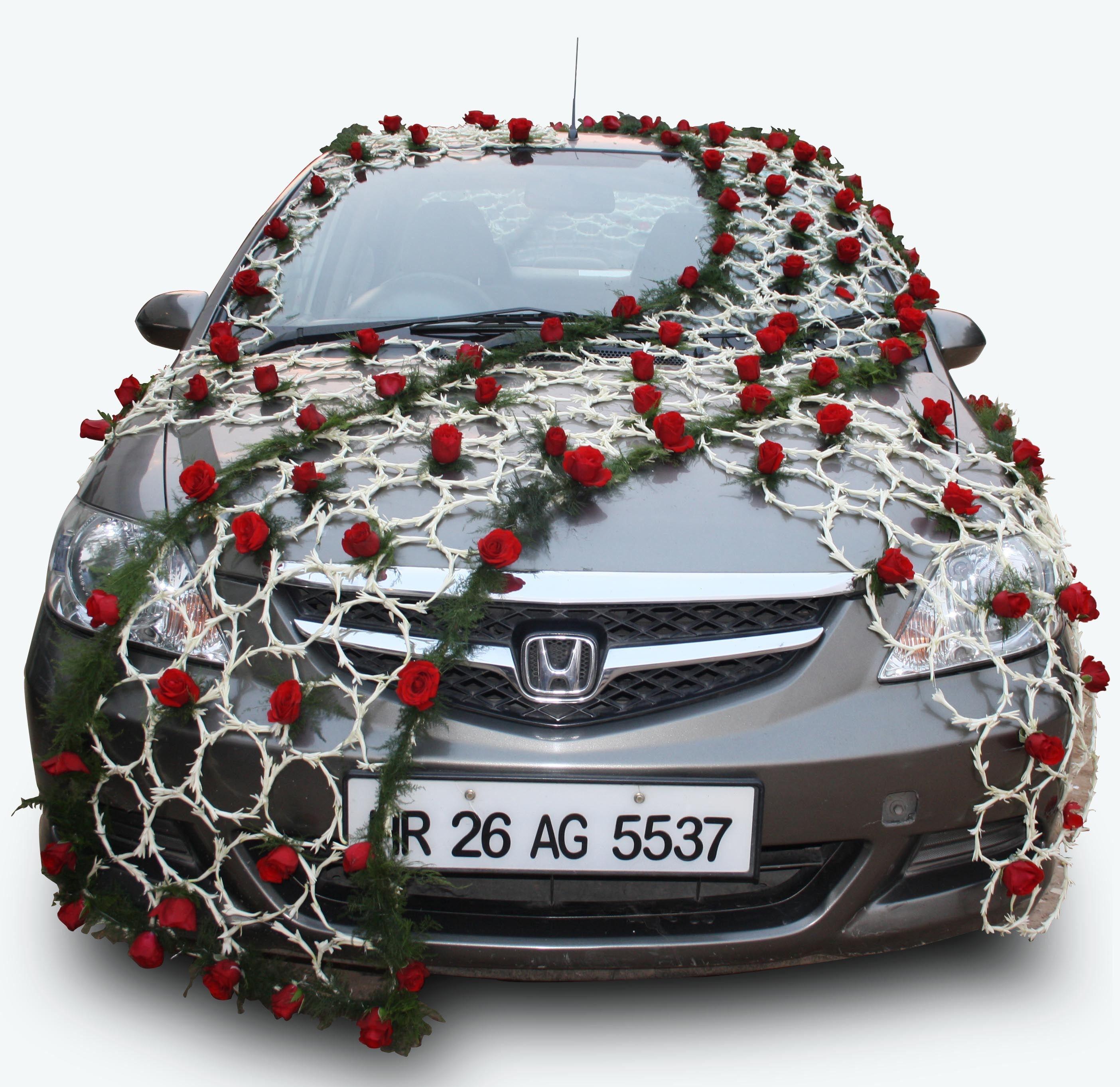 12++ Wedding car decoration india info