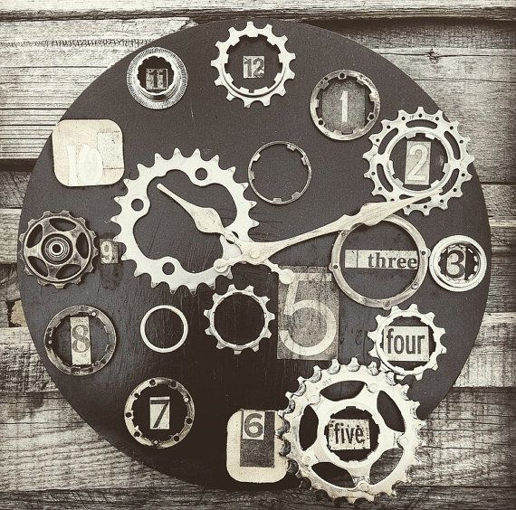 Repurposed Upcycled bike components have been handcrafted into original art pieces for the home. Each clock is unique; no two look alike. Custom orders available with exclusive quotes, colors, themes, sizes etc. Contact Urban Veggie via the website with any…
