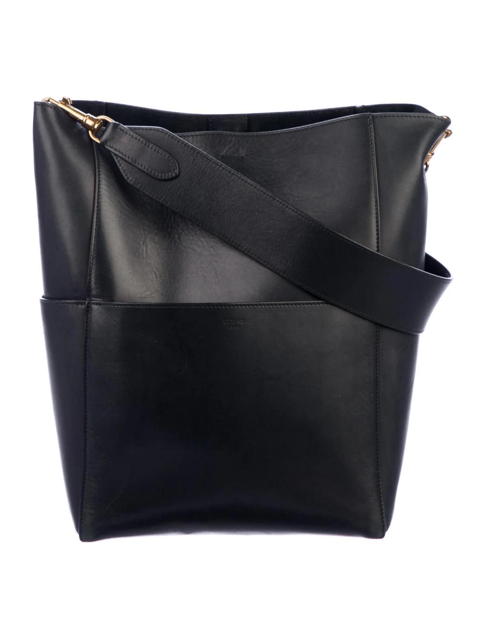 Celine Seau Sangle Bag - Handbags - CEL131848 | The RealReal