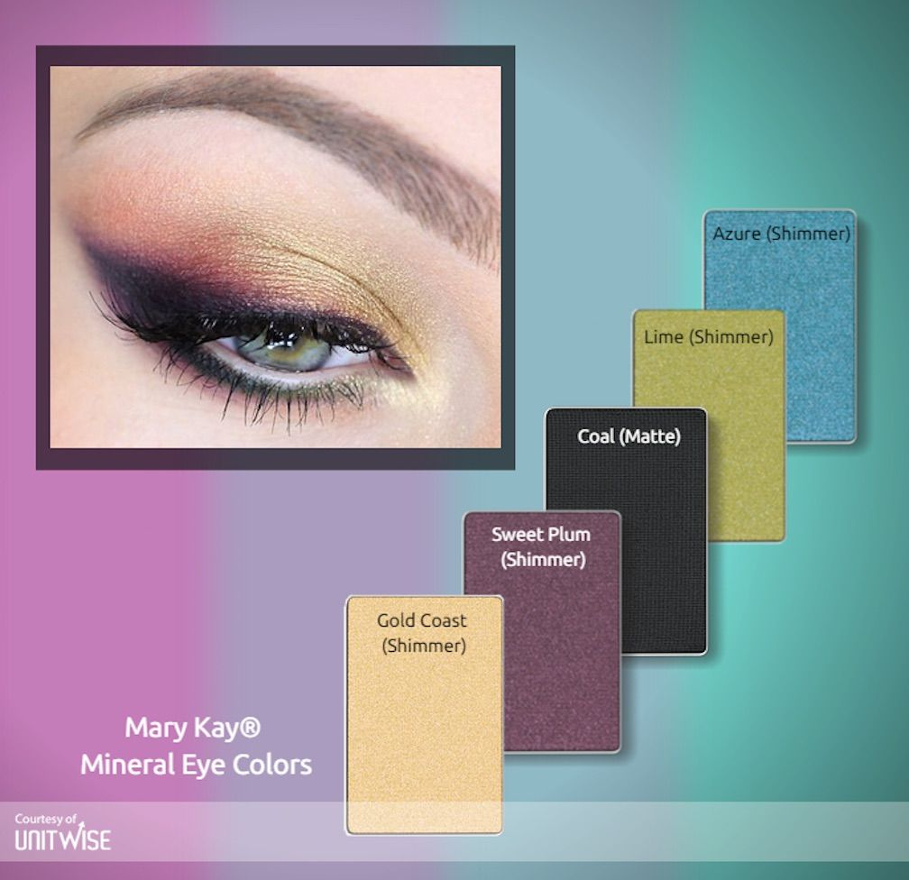 Mary Kay Mineral Eye Color....get this look here www
