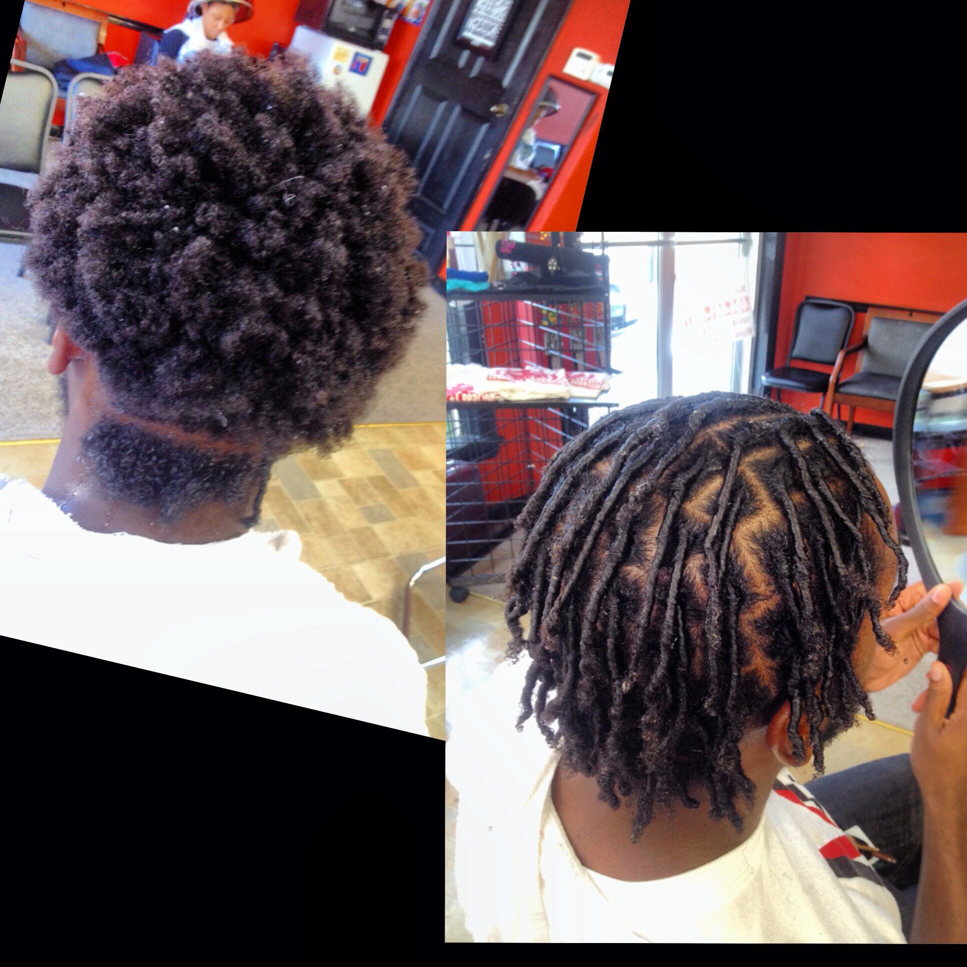 starter dreads hairstyles starter locs with images natural hair styles loose