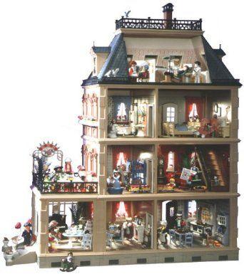 Dollhouse 1900 Large House: Amazon.co.uk: Toys & Games ...