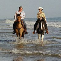 Horseback Riding On The Beach In Santa Barbara Into Sunset Even Better
