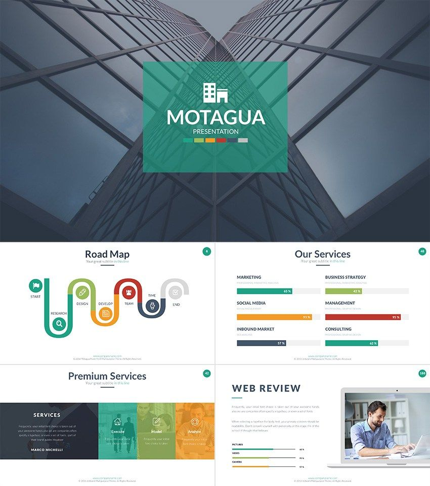 motagua-best-powerpoint-template-cool | powerpoint templates free, Modern powerpoint