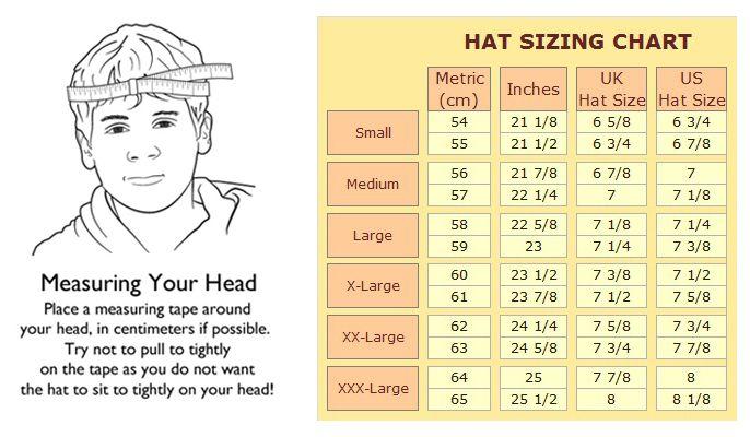 Für Original auswählen bester Preis klar in Sicht crochet size chart for hats | Stetson Burney Leather Newsboy ...