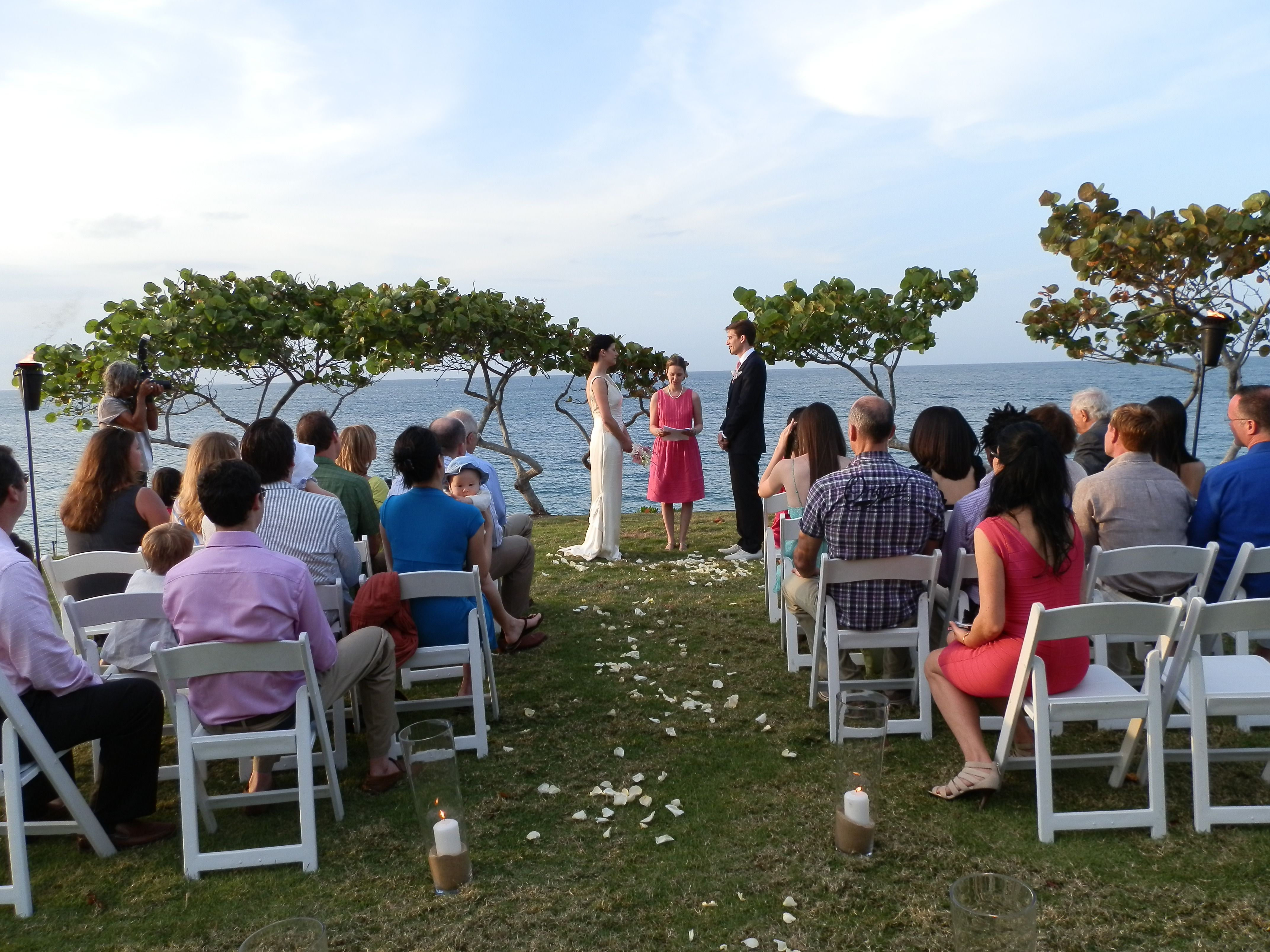 Wedding ceremony of Alyssa Reiner and Stan Mroczkowski at