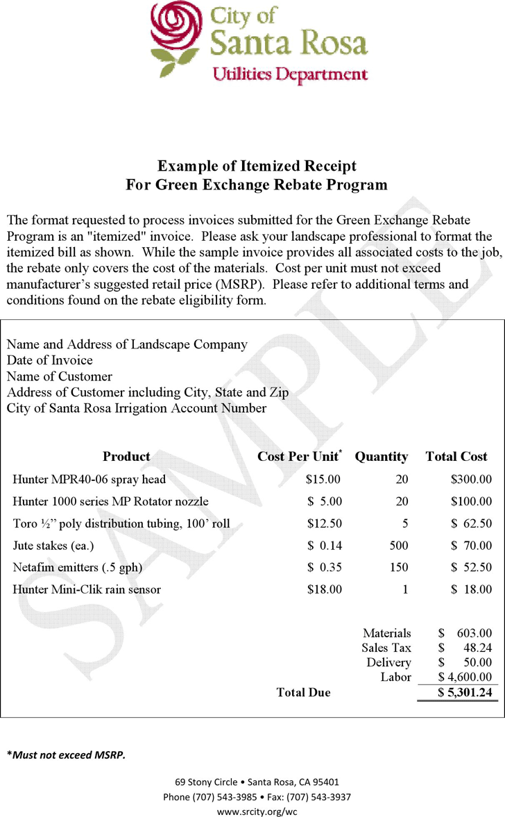 Craft Show Receipts 4 Per Page Free Printable Crafts Printable Crafts Crafts